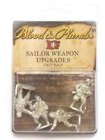 Blood & Plunder European Sailor Weapon Upgrade Unit (4) Unpainted Metal Minis