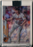 HUNTER HARVEY RC 2020 TOPPS CLEARLY AUTHENTIC ROOKIE AUTO ORIOLES