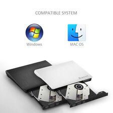 DVD-RW DVD/CD Brenner USB 3,0 Slim DVD Combo 9,5mm extern Laufwerk PC Laptop