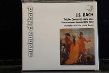 J.S. Bach - Triple Concerto / Akademie für Alte Musik Berlin