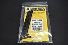 High Standard Military Grip 22lr 10 Rd Blued Magazine 990M