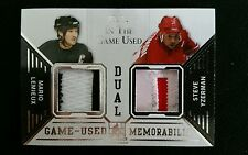 2014 LEMIEUX YZERMAN Leaf In The Game Used Worn Dual Prime Patch SP /15