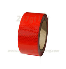 NEW HIGH INTENSITY RED REFLECTIVE TAPE 50mm x 10m