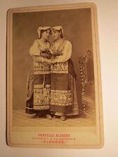Costume Calabrese di donne Maria e Teresina-Costume-ragazze/KAB Firenze
