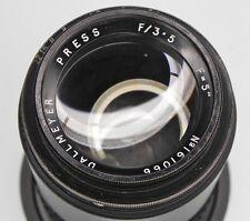 Dallmeyer 5in f3.5 Press Nikon SLR mount  #161066