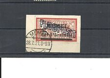 Memel, Klaipeda, Litauen 1921, Michelnr: 41 y o, gestempelt o, Katalogwert € 25