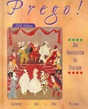 Prego! An Invitation to Italian 5th Edition, Lazzarino,0073655139, Book, Accepta