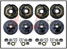 "Trailer 6 on 5.5"" Hub Drum Kits W/ (4)12""x2"" Electric Brakes 5200-6000 lbs Axle"
