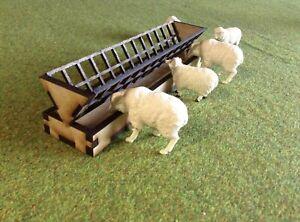 Woody Farm Building.  MMBSF-001 Sheep Feeder 1:32, Farm buildings