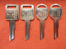 4 AMC AMERICAN MOTORS JEEP KEY BLANKS 70 - 84