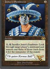 MTG Magic - Unglued - Jester's Sombrero - Rare VO