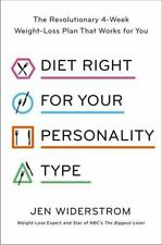Diet Right for Your Personality Type by Jennifer Widerstrom (2017, Hardcover)