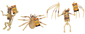 Halloween Skeleton Animal Decoration Party Prop Bat Spider Rat Bones Artificial