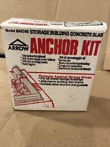 Arrow Shed AK100 Concrete Anchor Kit
