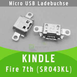 ✅ Amazon KINDLE Fire 7th SR043KL Micro USB DC Buchse Ladebuchse Connector Port