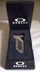 OAKLEY X-METAL/RARE/DISPLAY MONEYCLIP BNWT FREE P+P £34