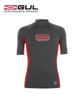 Genuine GUL  Mens Short Sleeve Rash Guard Vest Surf Swim  Wetsuit Top UV 40+ UPF
