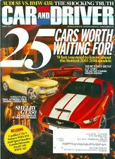 2014 Car & Driver Magazine: Cars Worth Waiting For/Mercedes-Benz GT AMG/Shelby