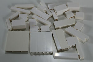 LEGO 30 Paneele Säule Wand Stütze 2453 2454 30145 3754 1x2x2 weiß white #1827