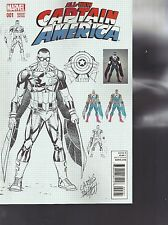 All-New Captain America #1 Carlos Pacheco Variant Cover Marvel Comics