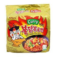 (0,86 EUR/100 g) Samyang - Hot Chicken Ramen Curry 5x140 g