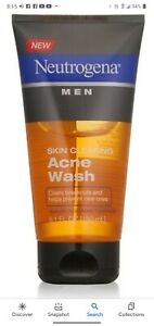 Neutrogena Men Skin Clearing Salicylic Acid Acne Face Wash 5.1 FL. OZ.