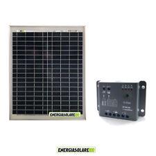 Kit Solare Fotovoltaico 20W 12V Regolatore PWM 5A Epsolar Camper Casa Nautica Il