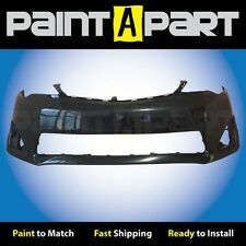 2012 2013 2014 Toyota Camry Front Bumper Cover Painted  1H2 Dark Steel Mica