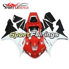 Bodywork For Yamaha R1 2002 2003 YZF 02-03 Red White Fairings Covers