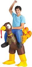 ADULT INFLATABLE TURKEY RIDER ILLUSION FUNNY PARADE COSTUME SS64010G