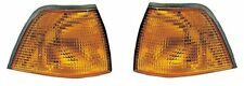 2 CLIGNOTANTS AVANT ORANGE BMW SERIE 3 E36 BREAK 325 tds 01/1995-10/1999