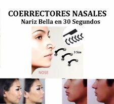 CORRECTORES NASALES AYUDA A CORREGIR DEFECTOS Y DESVIACIONES DE LA NARIZ 30 SEG