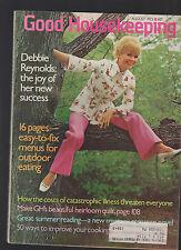 Good Housekeeping Magazine August 1973 Debbie Reynolds