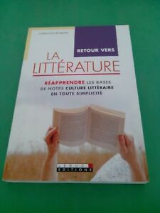 Retour vers la littérature - Christian Romain - Leduc Editions