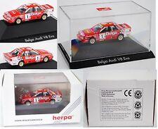Herpa 035767 AUDI v8 quattro evo2 DTM BELGIAN PROCAR Championship 1992 1:87
