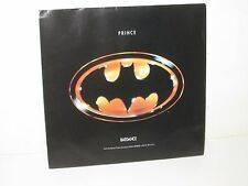 PRINCE BATDANCE BATMAN KEATON MOVIE 1989 SOUNDTRACK SINGLE 45 RPM VINYL RECORD