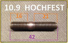 Stiftschraube Stehbolzen M8x42 10.9 hochfest, Krümmer, Zylinderkopf > 5 Stück