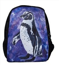 Penguin Backpack, Book bag - From My Painting, Southern Sweetheart