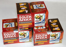 PANINI WC WM 2010 South Africa Sticker – 3 X BOX Display SEALED/scatola originale ed. Europa