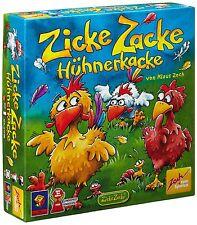 Noris Spiele Zoch Zicke Zacke Hühnerkacke Kinderspiel Brettspiele Spielzeug