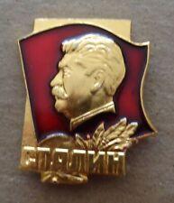 RUSSIAN  SOVIET CCCP    PIN BADGE STALIN  #2s