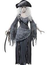 Ghost Ship Princess Costume, Halloween Ghost Ship Fancy Dress, UK Size 16-18