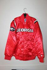 New NCAA Georgia Bulldogs polyester jacket men's L