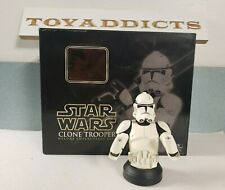 """Star Wars Rots 6"""" Clone Trooper (White) Deluxe Bust Gentle Giant New Open"""