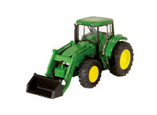 Wiking John Deere 6920s with Front Bucket Miniature Model Tractor 1:160 Scale