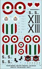 PART 1 SCALA 1:72 TAURO MODEL TM72//577 SPAD VII ASSI ITALIANI WWI