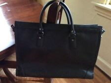 COMMEComme Ca Ism, Five Foxes Leather Tote Bag Black