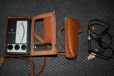 vintage Elcometer 145 Coating Thickness Gauge and probe tester