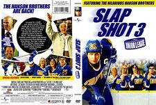 Slapshot 3 : The Junior League DVD Leslie Nielsen, Hanson Brothers - NEW