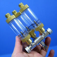 New listing Tri-Regulator + Bubble Counter -3way Brass Co2 splitter